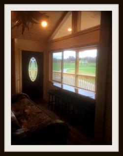 Main Room Door and Window