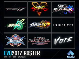 EVO 2017 Lineup Revealed
