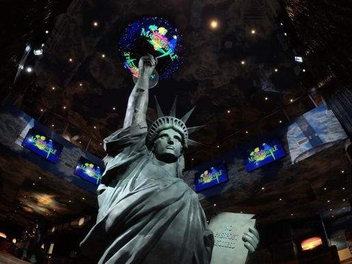 Lady Liberty Stands Tall at Margaritaville Resort in Times Square