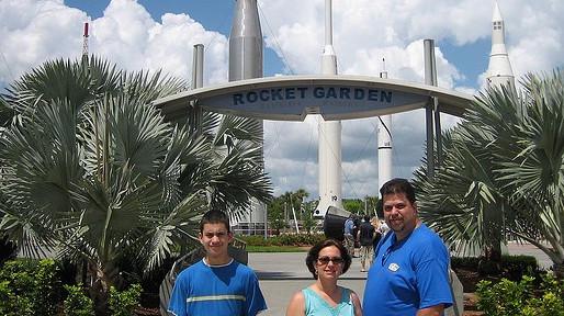 Kennedy Space Center Visitor Complex Rocket Garden