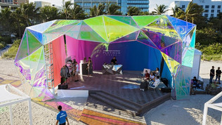 Entech Innovative Creates Unique Stage for Drake at Art Basel