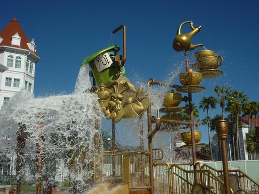 Kids Splash Playground at  The Grand Floridian