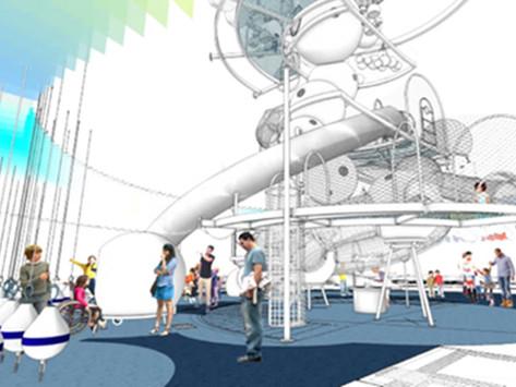 National Children's Museum: Dream Machine Designed and Engineered With SkyCiv