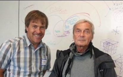 Professor Rubik and John Marhoefer Entech Innovative