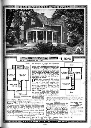 Sears Roebuck and Company home catalog