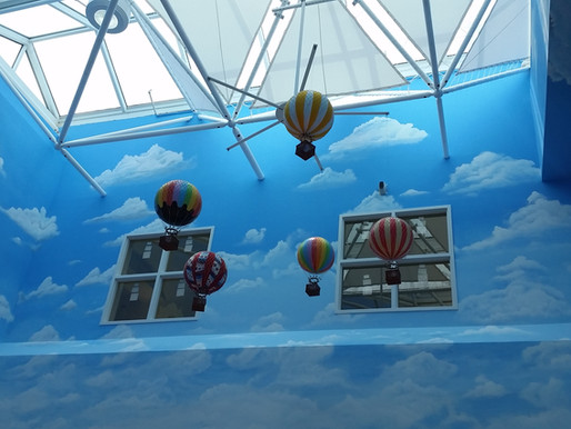 Entech Innovative Engineers Iconic Elements at Tampa Children's Hospital