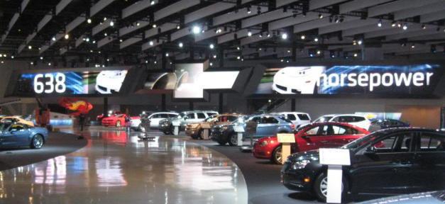 LA Auto Show Chevy Brand Icon