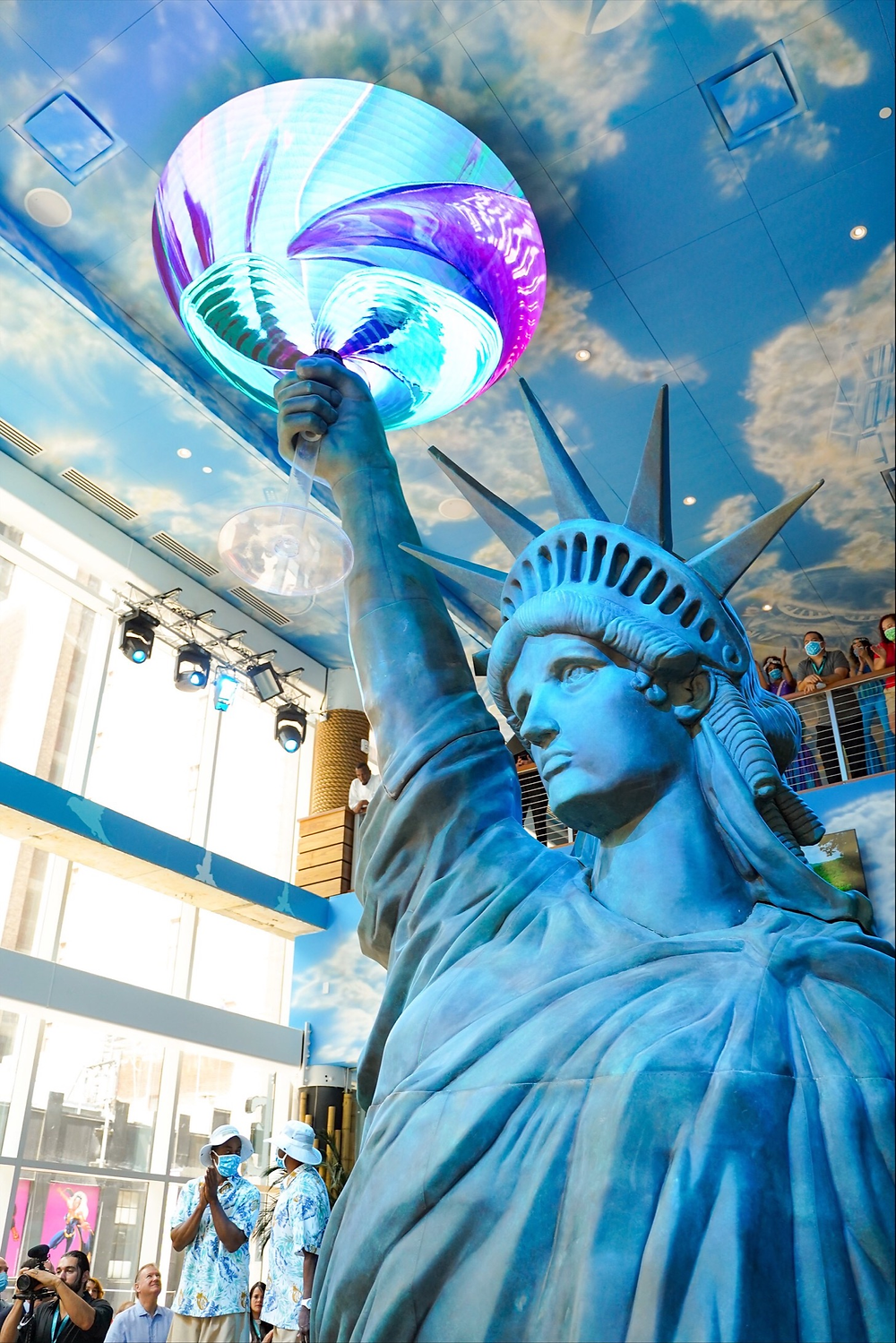 Statue of Liberty at Margaritaville Resort Times Square