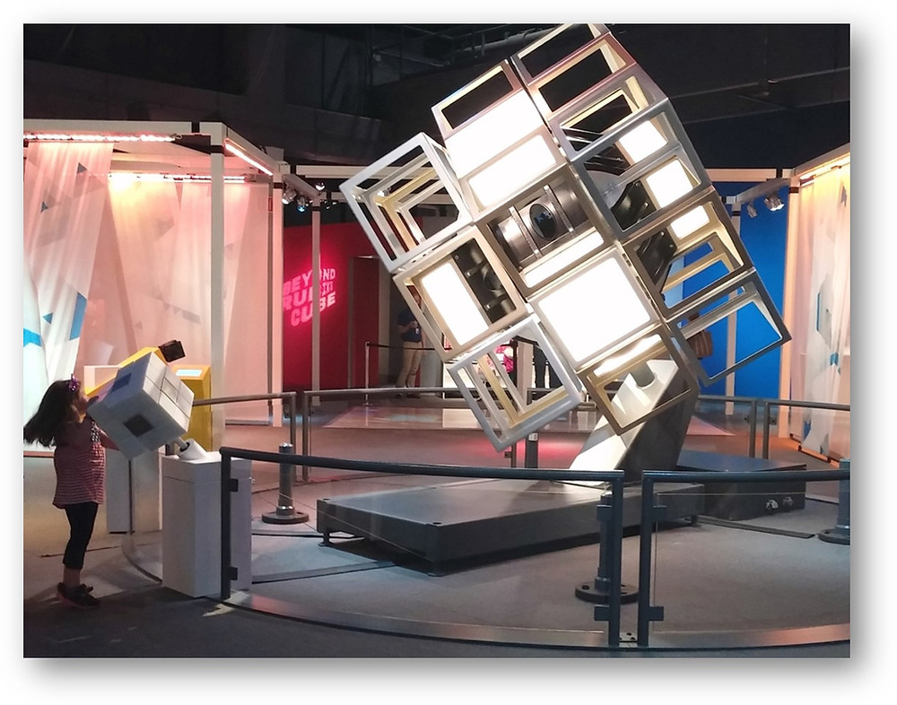 Liberty Science Center Beyond Rubik's Cube exhibit