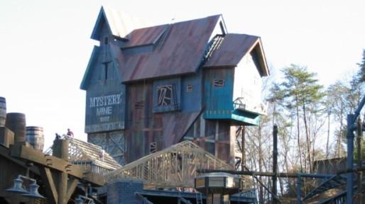 Dollywood Mystery Mine Roller Coaster