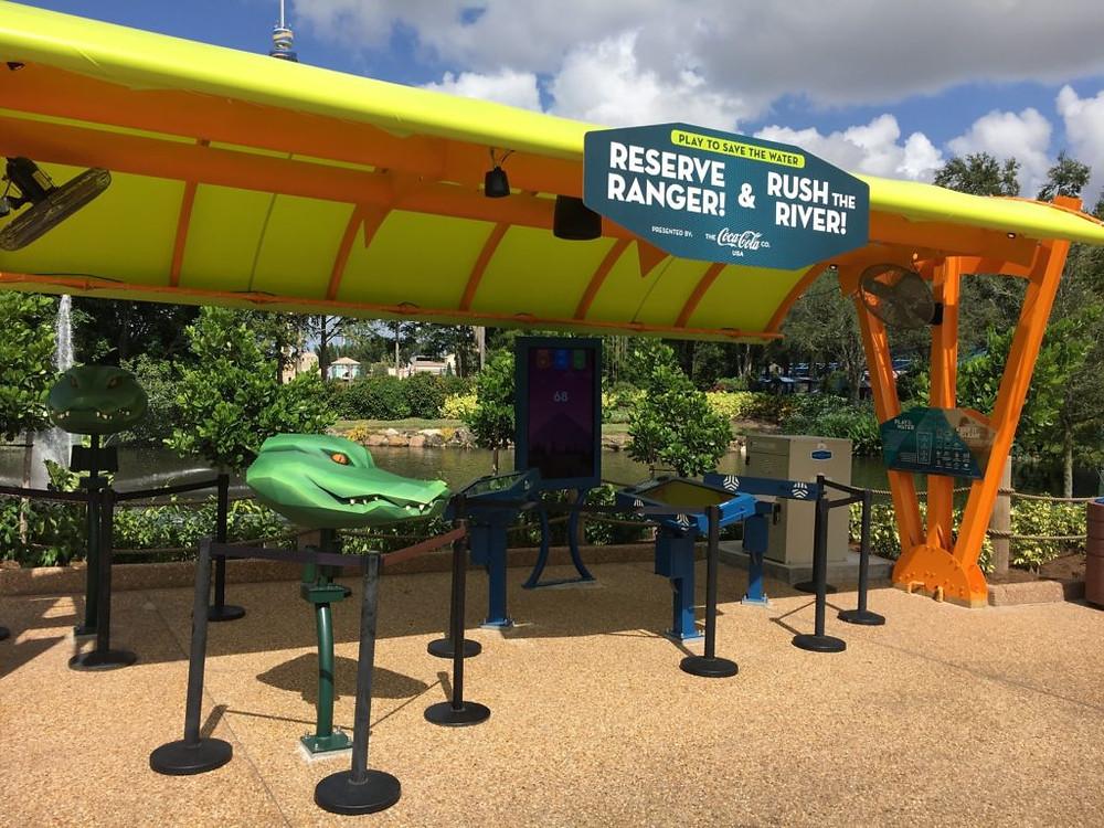 Infinity Falls canopy project SeaWorld