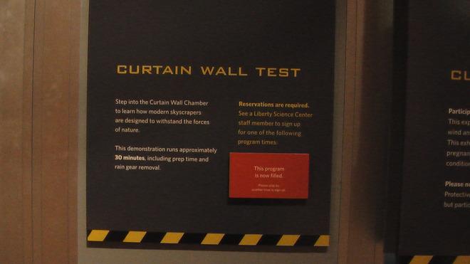 Curtain Wall Test