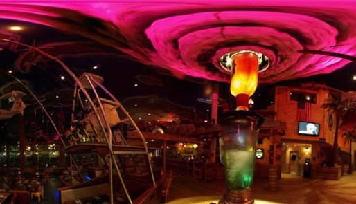 Margaritaville's Spinning Hurricane