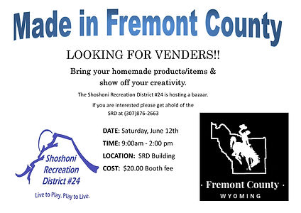 made in fremont county looking for vende