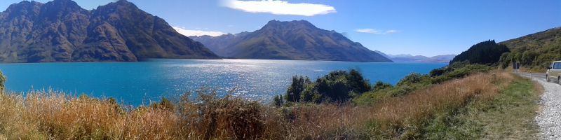 New Zealand's Lake Wakatipu