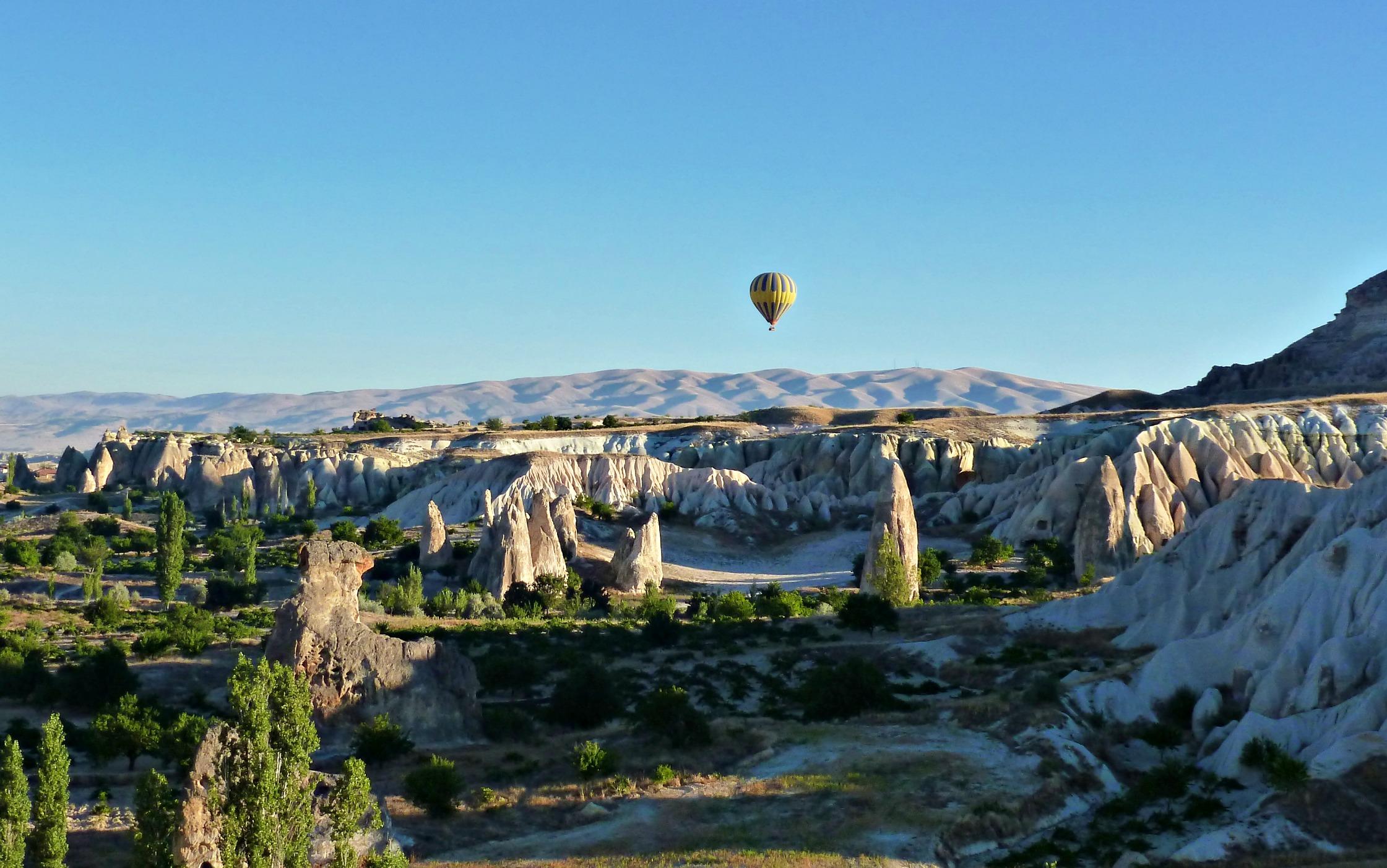 Ballooning in Kapadokya, Turkey