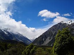 Aoraki Mt Cook, New Zealand Southern Alps