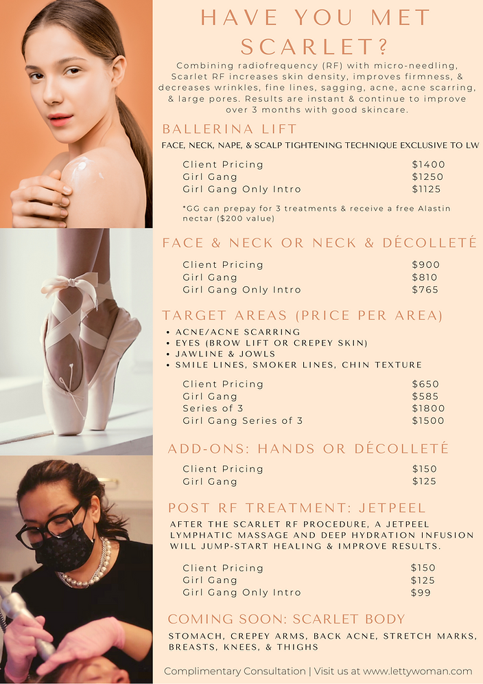Peach Photo Spa _ Salon Services Menu (4