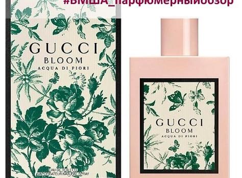 Парфюмерный обзор аромата Gucci Bloom Acqua Di Fiori