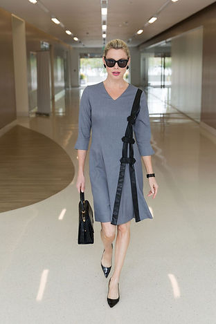 Womens Work Dress With Sleeves