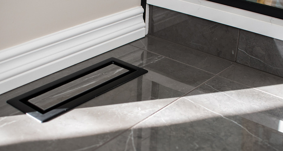 custom tiled air vent