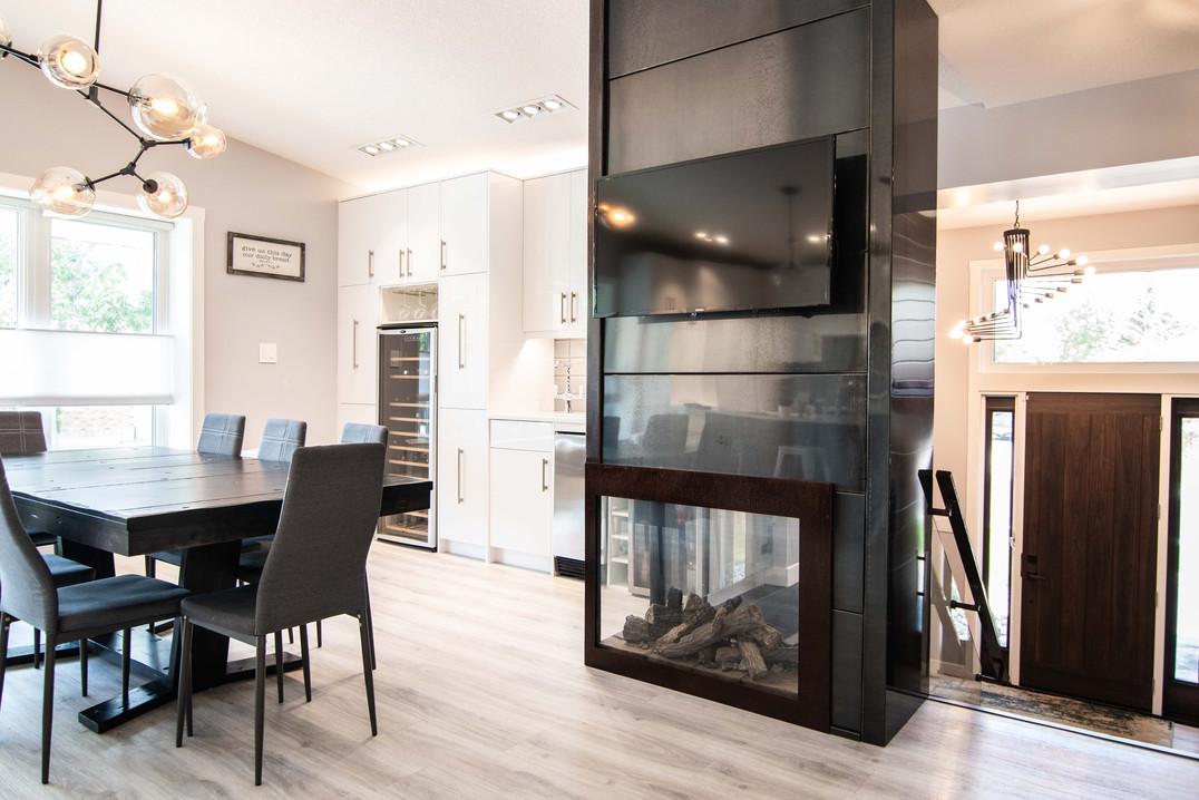 hoppe's custom fireplace