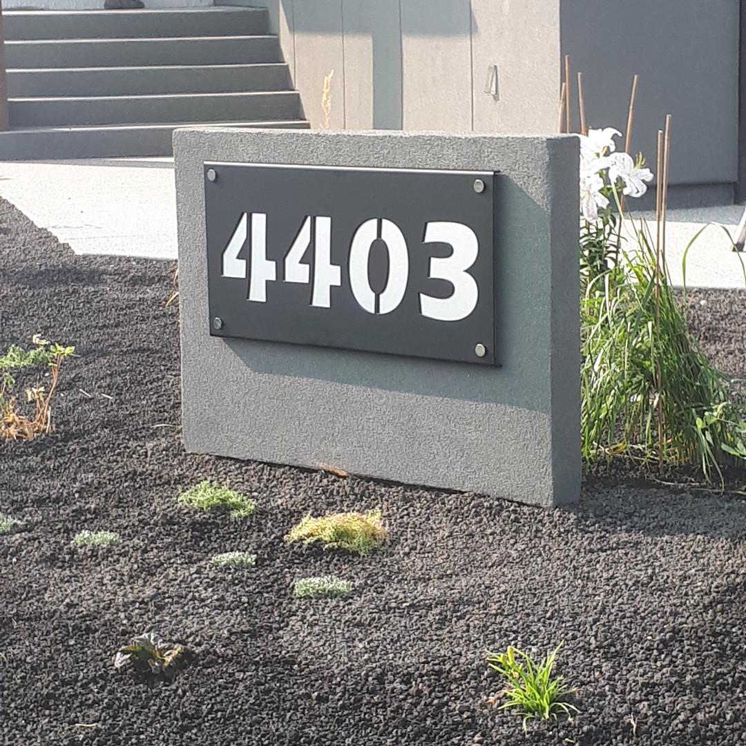 Standard House Number