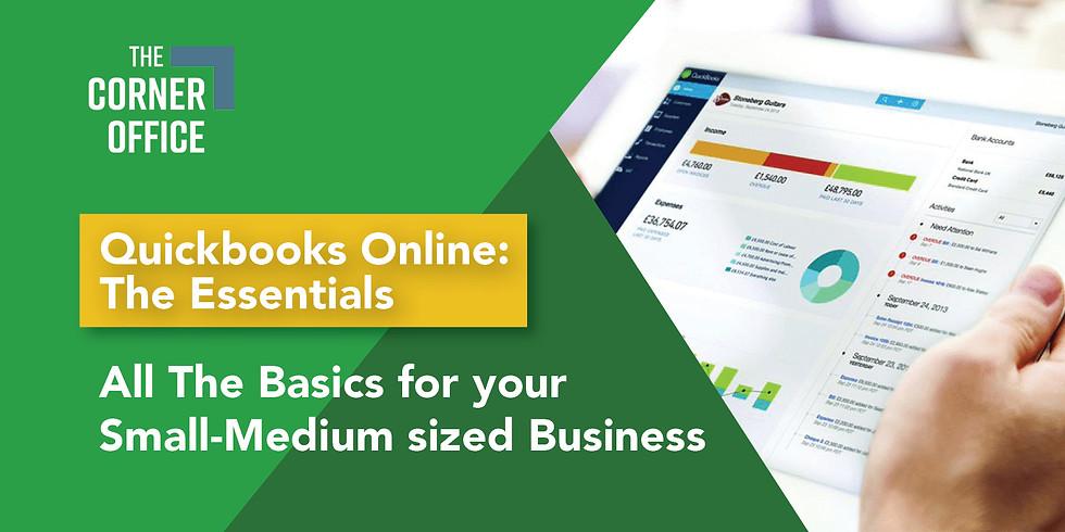 Quickbooks Online Essentials Training (2 half days)
