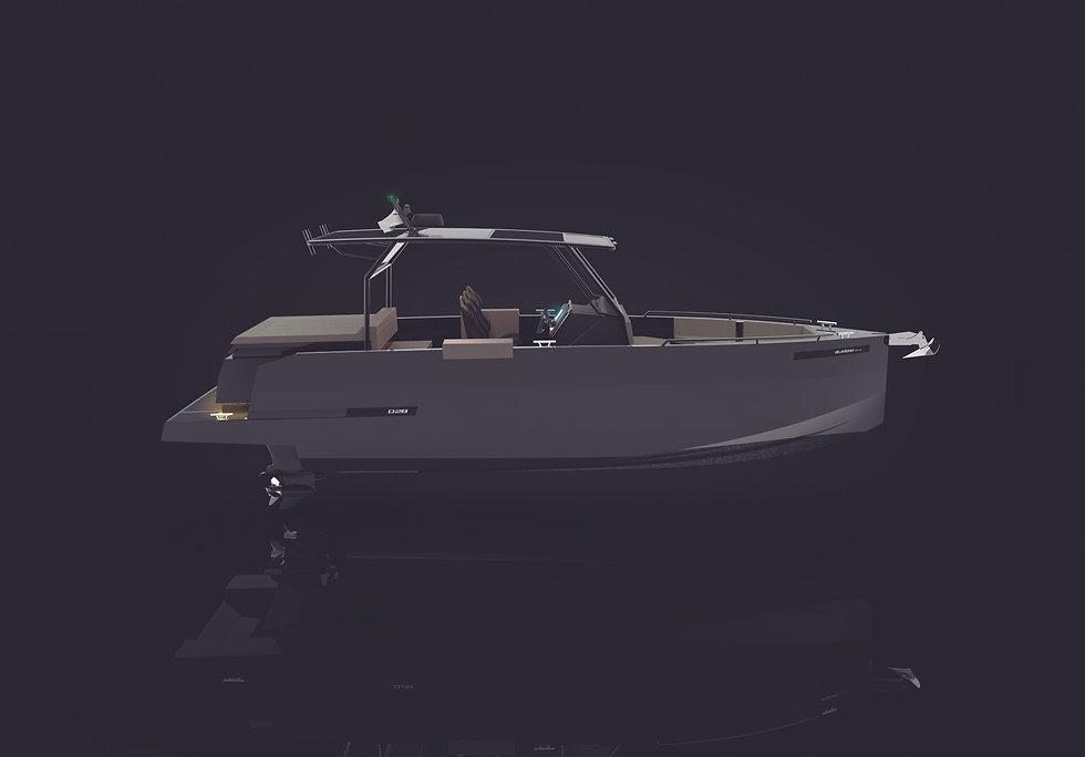 De Antonio Yachts_D28 Xplorer_Render_10.