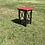 2x4 outdoor end table
