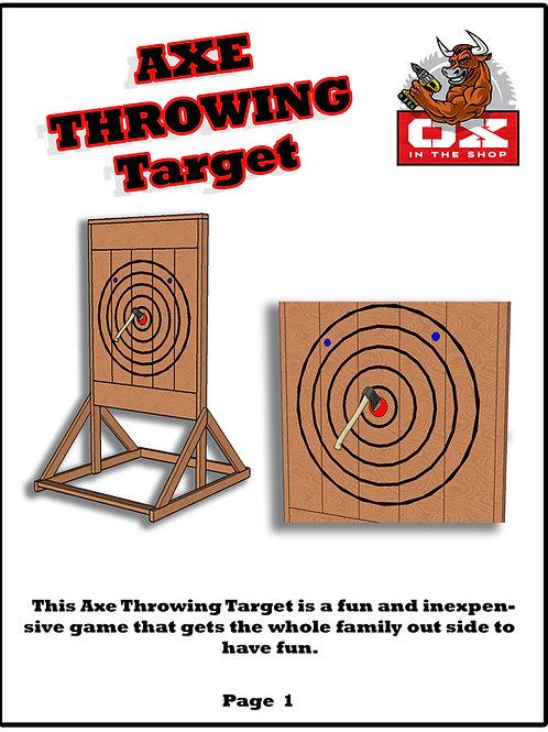 Axe Throwing Target Plans