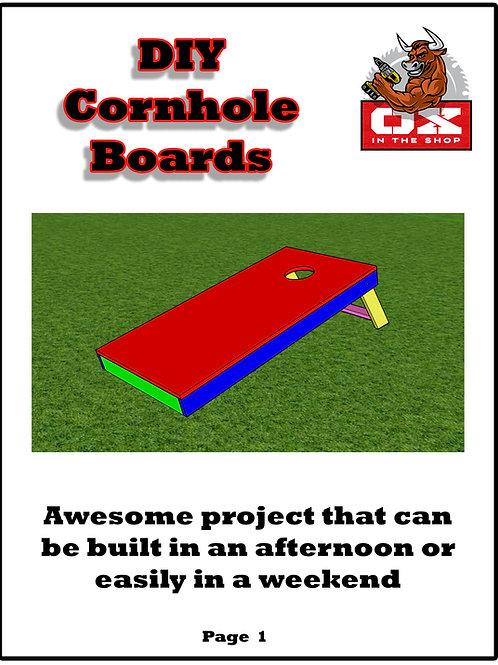 Easy DIY Cornhole Boards