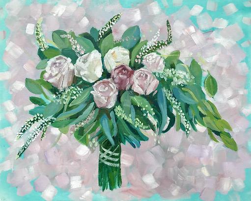 Bridal Bouquet Commission