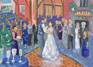 Live Wedding Painting Montana
