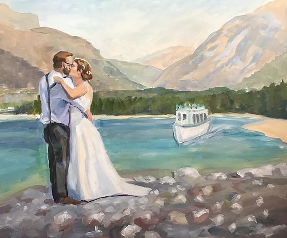 wedding glacier park
