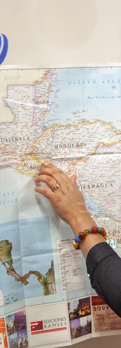 Explain HONDURAS on a Map