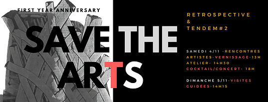 First year anniversary I SAVE THE ARTS GALLERY