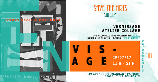 Exposition ENVISAGE I SAVE THE ARTS