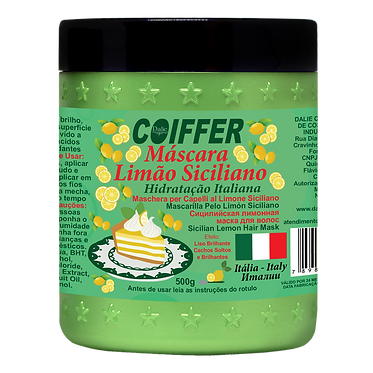 Маска Limão Siciliano для блеска и гладкости