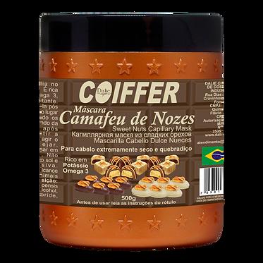 Маска  CAMAFEO DE NOZES для увлажнения с маслом ореха пекан, калием и Омега3