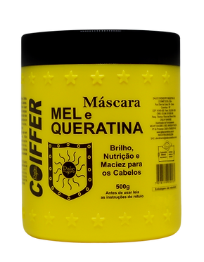 Медовая маска - подложка для волос MASCARA DE MEL E QUERATINA