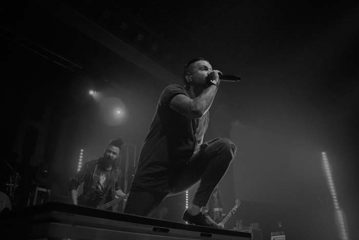 Matty Mullins of Memphis May Fire