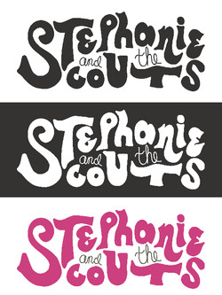 Stephanie and the Scouts Logo Variants