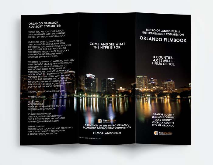 Orlando Film Commission Tri-Fold