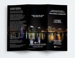 Orlando Film Commission Tri-Fold