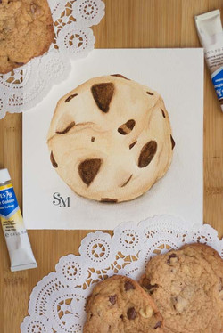 Watercolor-Confections_Choc-Chip-Cookie.