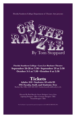 On The Razzle Theatre Poster