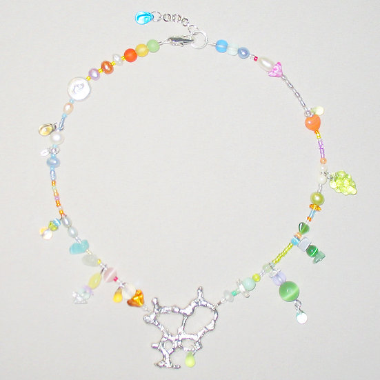 Amoeba Necklace 14