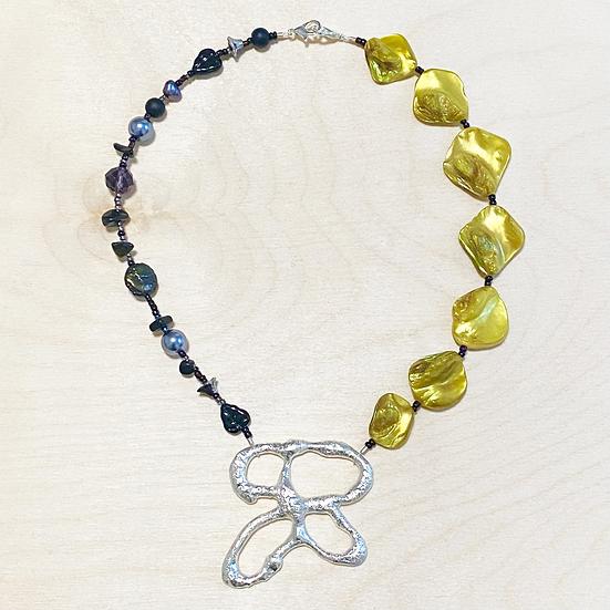 Morpho Necklace 5