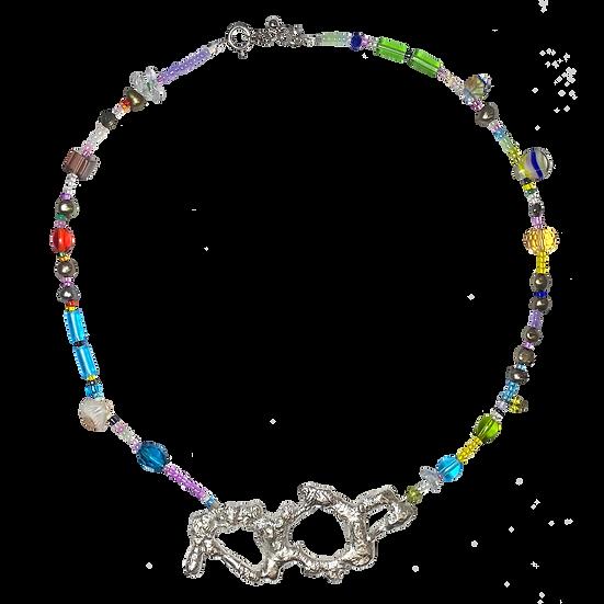 Amoeba Necklace 10